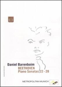 Daniel Barenboim plays Beethoven Piano Sonatas Vol.4 - DVD