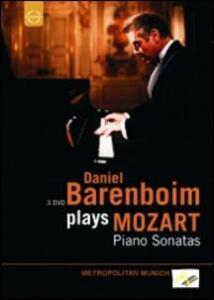 Daniel Barenboim plays Mozart (3 DVD) - DVD