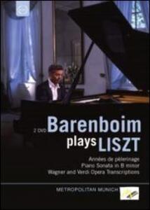 Daniel Barenboim Plays Liszt (2 DVD) - DVD