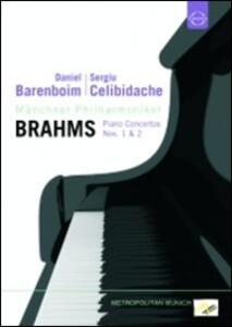 Daniel Barenboim. Sergiu Celibidache. Brahms - DVD