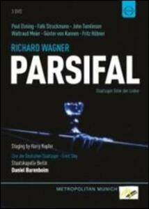 Richard Wagner. Parsifal (3 DVD) di Harry Kupfer - DVD