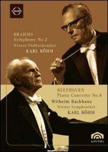 Wilhelm Backhaus and Karl Bohm - DVD