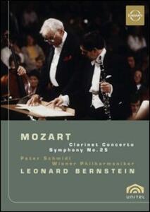 Wolfgang Amadeus Mozart. Clarinet Concerto and Symphony No. 25 - DVD