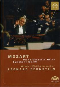 Wolfgang Amadeus Mozart. Piano Concert No 17, Symphony No 39 - DVD