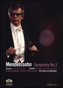Felix Mendelssohn. Sinfonia n. 3 - DVD