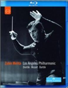 Zubin Mehta conducts Mozart, Bartók & Dvorak - Blu-ray