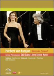 Herbert Von Karajan. Memorial Concert - DVD