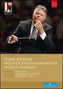 Salzburg Festival 2012: Mariss Jansons - DVD