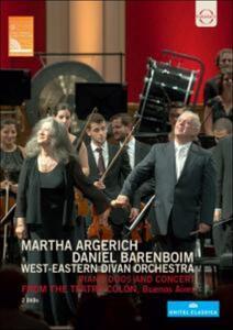 Martha Argerich. Daniel Barenboim. West Eastern Divan Orchestra (2 DVD) - DVD
