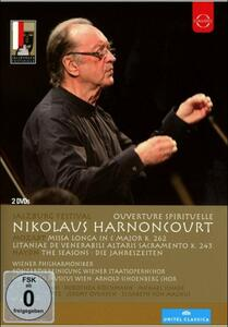 Nikolaus Harnoncourt. Salzburg Festival. Overture Spirituelle (2 DVD) - DVD