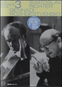 The Bruno Monsaingeon Edition. Vol. 3. Richter - Rozhdestvensky (5 DVD) di Bruno Monsaingeon - DVD