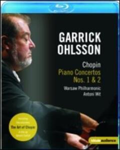 Garrick Ohlsson. Chopin. Piano Concertos Nos. 1 & 2 - Blu-ray