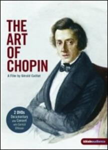 Frédéric François Chopin. The Art of Chopin (2 DVD) di Gerard Caillat - DVD
