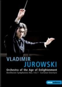 Vladimir Jurowski. Beethoven, Symphony No. 4, 7, Coriolan Overture - DVD