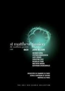 Johann Sebastian Bach. Passione secondo Matteo. St Matthew Passion (2 DVD) - DVD