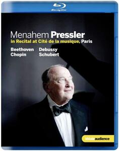 Menahem Pressler in Recital - Blu-ray