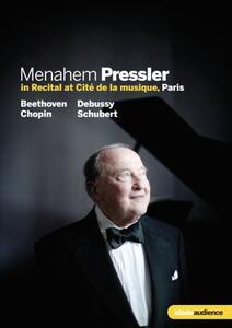 Menahem Pressler in Recital - DVD