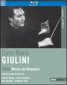 Giuseppe Verdi. Messa da requiem - Blu-ray