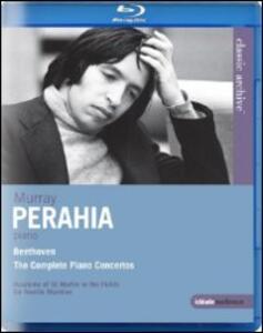 Ludwig van Beethoven. Concerti per pianoforte. Murray Perahia - Blu-ray