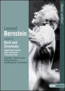 Leonard Bernstein conducts Bach & Stravinsky - DVD
