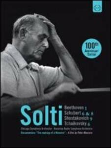 Georg Solti. 100th Anniversary Editon (3 DVD) - DVD