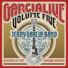 Live 5. December 31st - CD Audio di Jerry Garcia