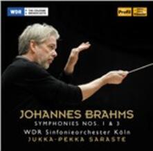 Sinfonie N.1, N.3 - CD Audio di Johannes Brahms