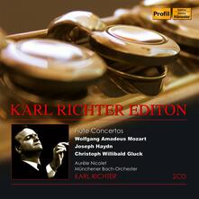 Edition. Flute Concertos - CD Audio di Karl Richter