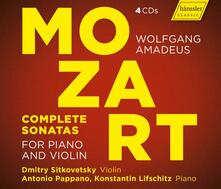 Sonate complete per violino - CD Audio di Wolfgang Amadeus Mozart,Dmitry Sitkovetsky