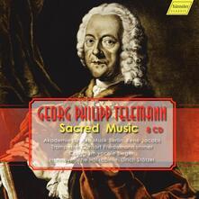 Musica sacra (Box Set) - CD Audio di Georg Philipp Telemann