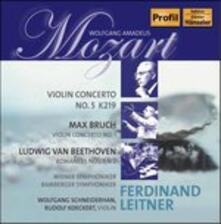 Violin Concerto-Romanze - CD Audio di Ludwig van Beethoven,Wolfgang Amadeus Mozart