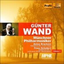 Symphony No.8 - CD Audio di Anton Bruckner,Franz Schubert