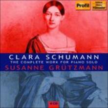 Opere per Pianoforte (Integrale) - CD Audio di Clara Schumann
