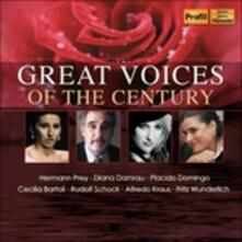 Great Voices of the Centu - CD Audio