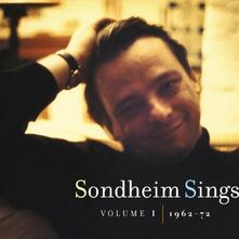 Vol. 1-Sondheim Sings 1962-72 - CD Audio di Stephen Sondheim