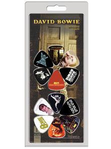 Set 12 Plettri David Bowie. 12 Pack