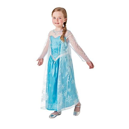 Costume Carnevale Frozen Elsa Deluxe. Taglia M Età 5 6 Anni