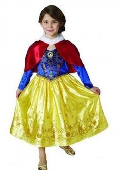 Costume Biancaneve WINTER. Bambina Taglia. LARGE