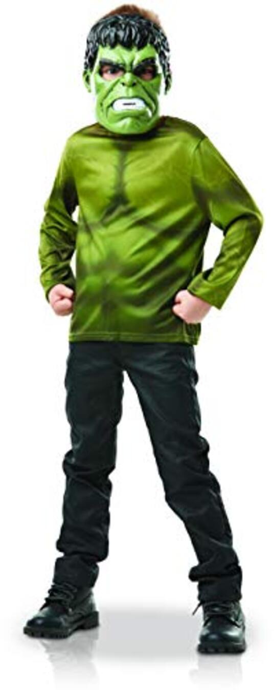 Rubies  Set di pettorina Hulk, da ragazzo, I-300112, verde