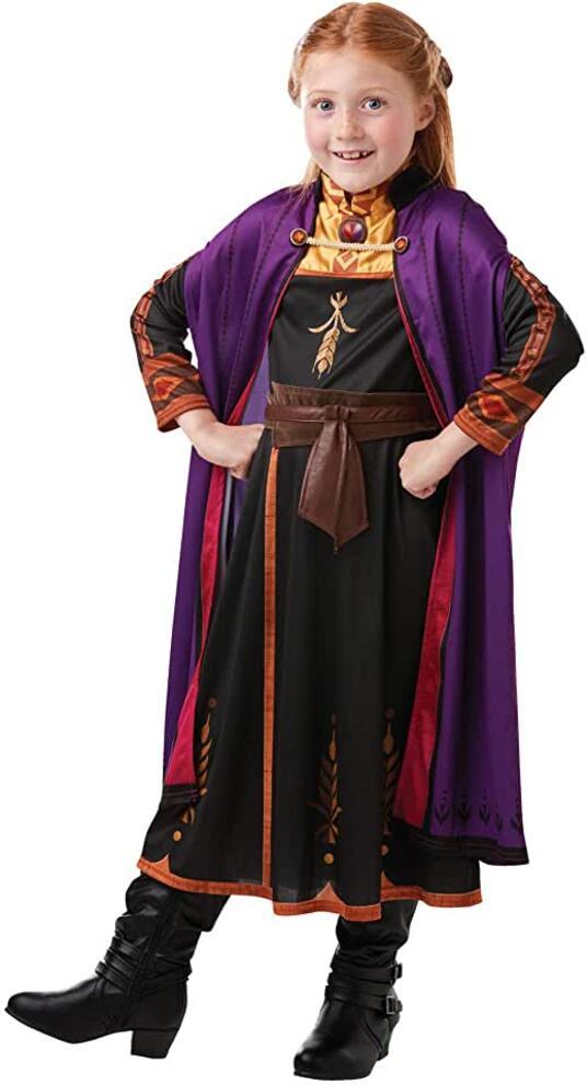 Disney Frozen 2 Classic Costume Anna Travel, M, Multicolore, (Rubie's 300289-M)
