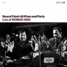 Live at Womad 1985 - CD Audio di Nusrat Fateh Ali Khan
