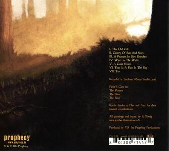 A Portrait Painted By the Sun - CD Audio di Finnr's Cane - 2