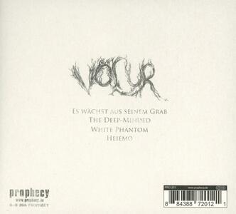 Disir - CD Audio di Völur - 2