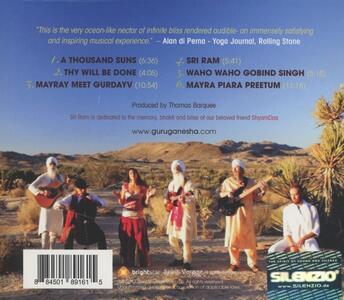 Thousand Suns - CD Audio di Guruganesha Band - 2