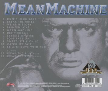 Mean Machine - CD Audio di UDO - 2