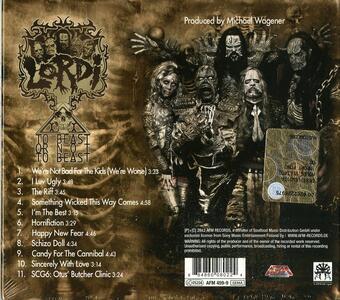 To Beast or Not to Beast - CD Audio di Lordi - 2