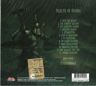 Realms of Odoric (Digipack) - CD Audio di Suidakra - 2