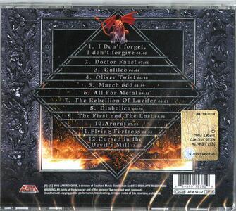 Diabolica - CD Audio di Iron Mask - 2