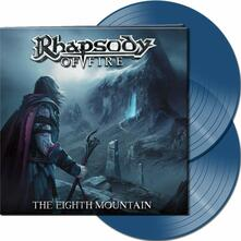 The Eighth Mountain (Clear Blue Coloured Vinyl) - Vinile LP di Rhapsody of Fire