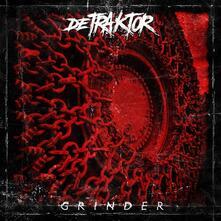 Grinder (Red Coloured Vinyl) - Vinile LP di Detraktor